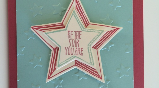"Simple ""You are a Star"" card"