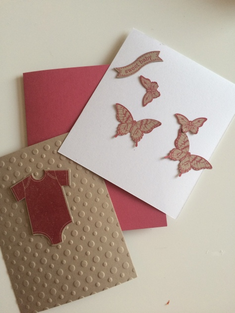 Stampin' Up! Butterflies