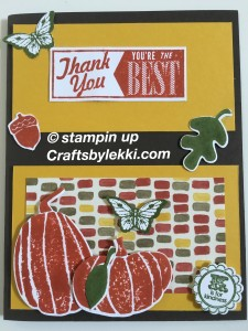stampin up fall fest color me autumn